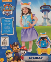 Paw Patrol Everest Costume Toddler 1-2 Years Dress Up for Kids / Children