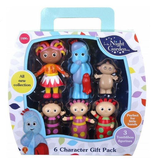 In The Night Garden Figurine Set with Tombliboo 6 Pcs - Great for Cake Topper