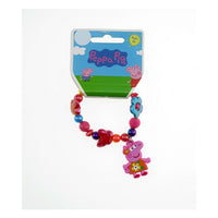 Peppa Pig Bracelet Flower Rainbow Bracelet for Girls