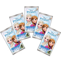 Topps Frozen Fever Disney Activity Cards 5X Single Packs Total 25 Cards Season 2