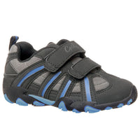 Grosby Shoes Quaid Children / Kids / Boys Black Shoes-Size EU 32