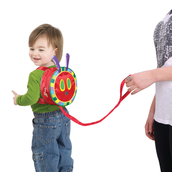The Very Hungry Caterpillar Backpack Harness 2 in 1 Toddler Back Pack