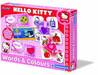 Hello Kitty Words and Colours Board Game for Kids Sanrio