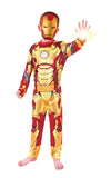 Iron Man 3 Costume Dress Up Suit with Mask Size 6-8 years for Kids Avengers