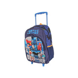 Justice League Trolley Wheelie Suitcase Luggage Travel School Bag Batman Wonder Woman