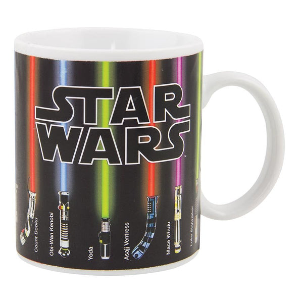 Star Wars Lightsaber Heat Change Mug Heat Sensitive Coffee Cup Light Up When Hot