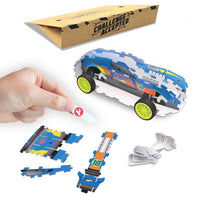 Hot Wheels Maker Kitz ONE Car - Build Pull Back Race Car Kit