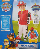 Paw Patrol Marshall Costume Toddler 1-2 Years Dress Up for Kids / Children