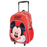 Mickey Mouse Trolley Wheelie Suitcase Luggage Travel School Bag for Kids Disney