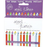 Angel Flames MULTI Coloured Flames Candles - AUS SELLER Birthday Cake Party