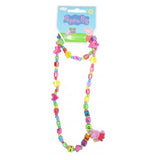 Peppa Pig Necklace and Bracelet Set for Girls I Love Peppa