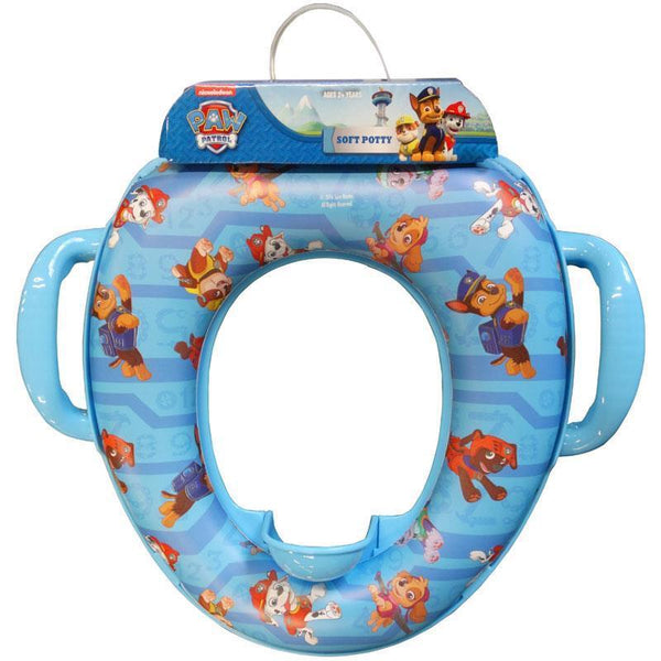 Paw Patrol Soft Potty Toilet Training Seat with Soft Pad for Boys