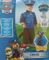 Paw Patrol Chase Costume Small 3-4 Years Dress Up for Kids / Children