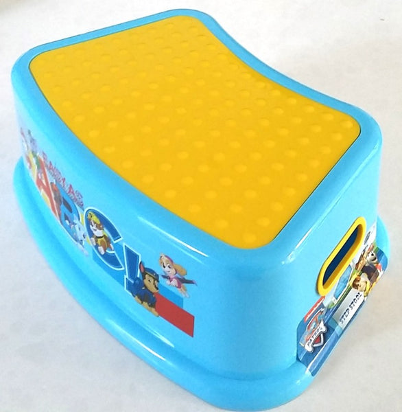 Paw Patrol Step Stool with Non Slip Surfaces and Easy Grip Handles