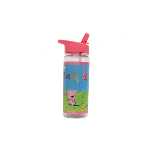 Peppa Pig Drink Bottle / Water Bottle Built In Straw for Kids Let's Play