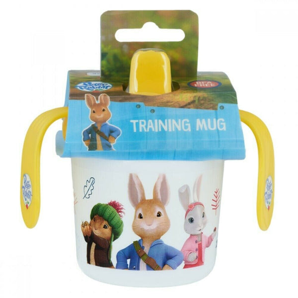 Peter Rabbit Training Mug for Baby / Sippy Cup / Sipper Cup