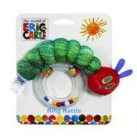 The Very Hungry Caterpillar Ring Rattle - The World of Eric Carle