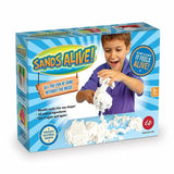 Sands Alive! Kinetic Moving Sand Box Of Sand for Kids Craft Toy