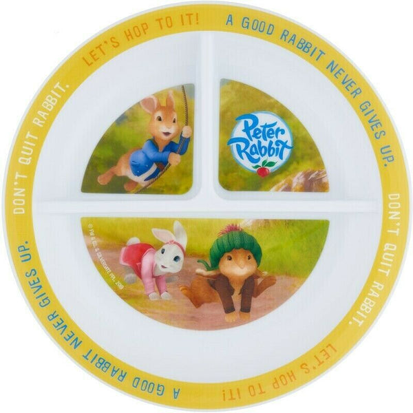 Peter Rabbit Section Plate Dinner Plate
