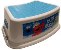 Sesame Street Step Stool with Non Slip Surfaces and Easy Grip Handles Elmo