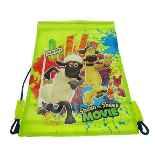 Shaun The Sheep Swim Bag / Trainer Bag School Satchel for Kids
