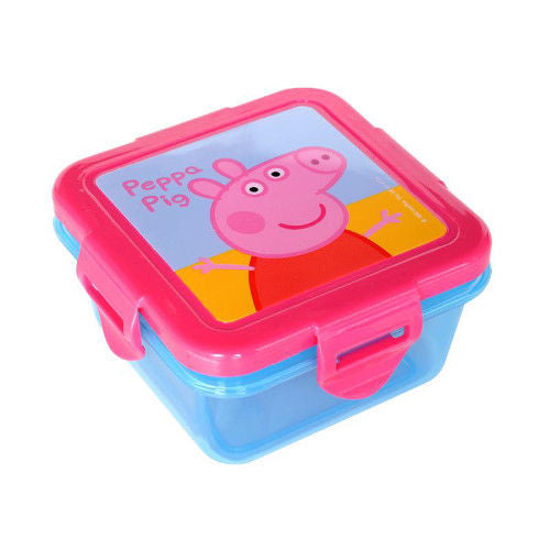 Peppa Pig Snack Box for Kids Mini Lunch Box / Lunch Container