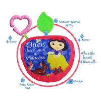 Snow White Soft Book Teether Disney Baby Princess Baby Book
