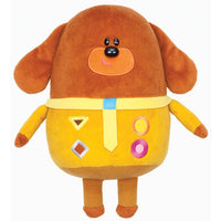 Hey Duggee Talking Duggee Soft Toy / Plush with Duggee Badge