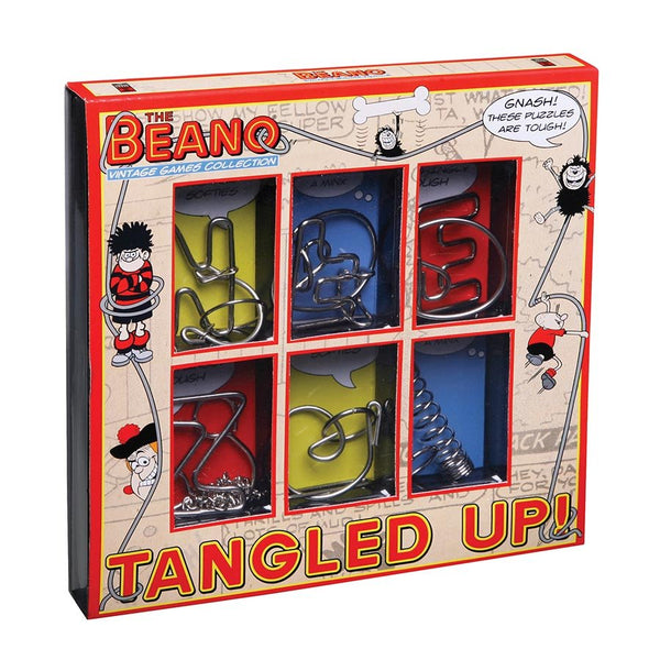 Dennis The Menace Tangled Up! Mind Bending Metal Magic Puzzle by Beano Tricks