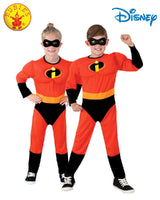 The Incredibles 2 Costume Kids Size 3-5 Years Multisex Children Dress Up Disney Pixars
