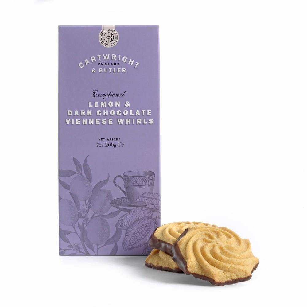 Cartwright & Butler - Lemon and Dark Chocolate Viennese Whirls - Artisan Deli Market