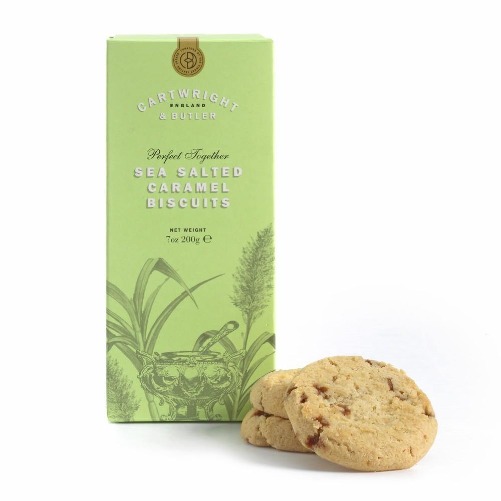Cartwright & Butler - Sea Salted Caramel Biscuits in Carton