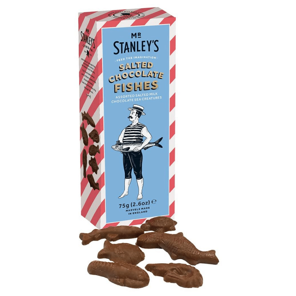 Mr. Stanley's - Salted Chocolate Fishes - Artisan Deli Market