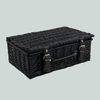 (4-8 Items) Small Black Wicker