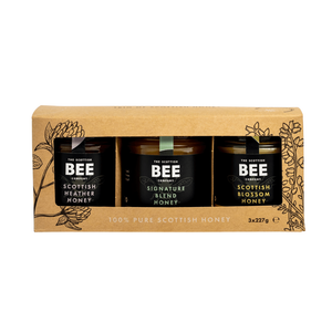 The Scottish Bee Company - Trio of Scottish Honey