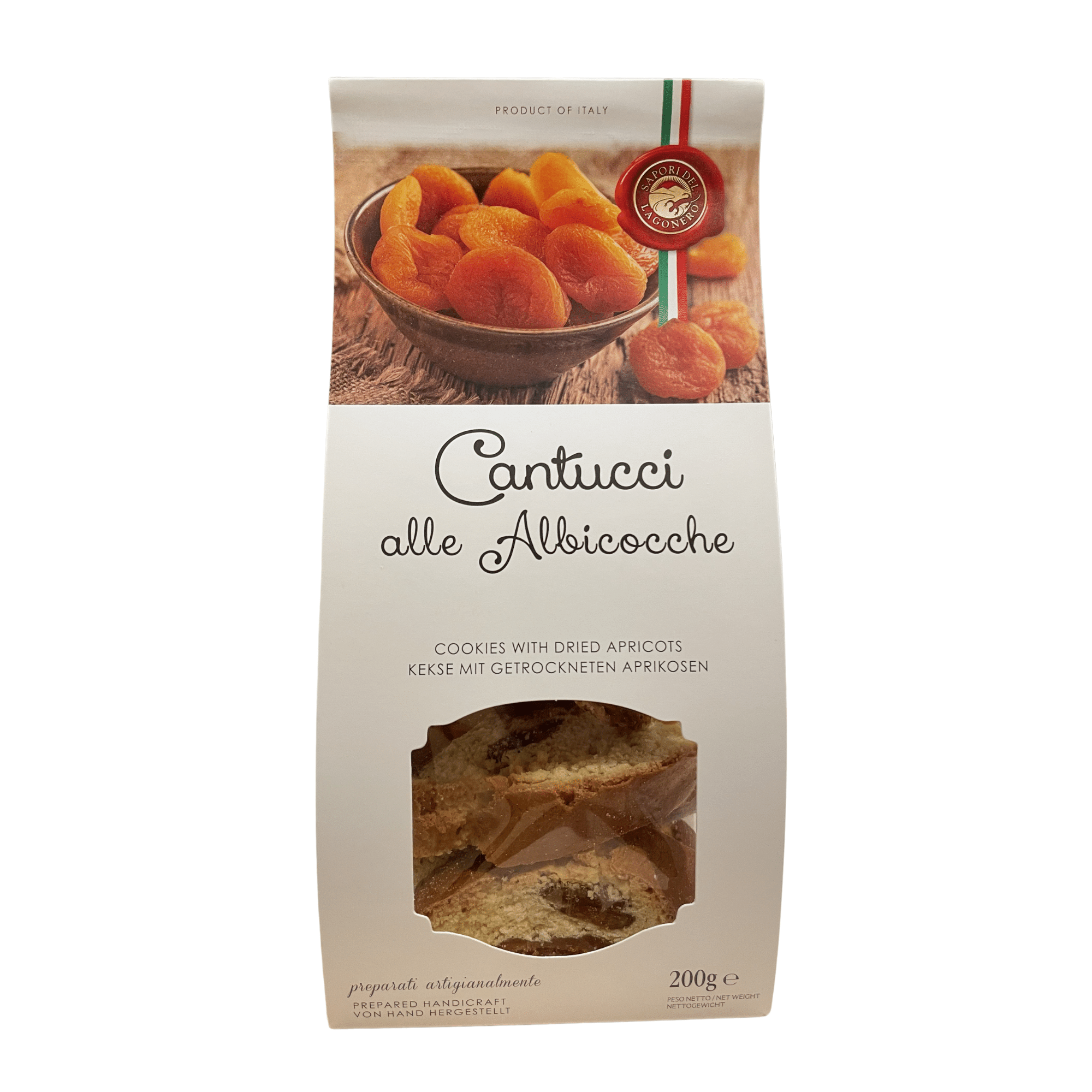 Biscotti with Dried Apricots - Artisan Deli Market