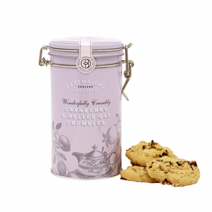 Cartwright & Butler - Cranberry Crumbles in Tin - Artisan Deli Market
