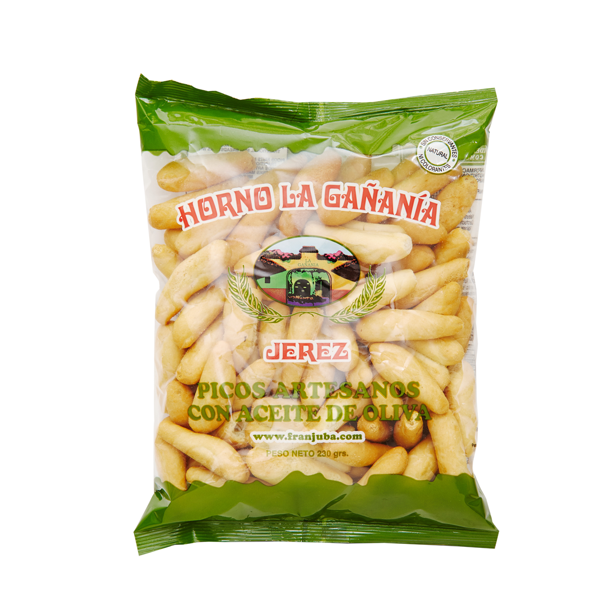 Picos de Pan - Mini Breadsticks 230g