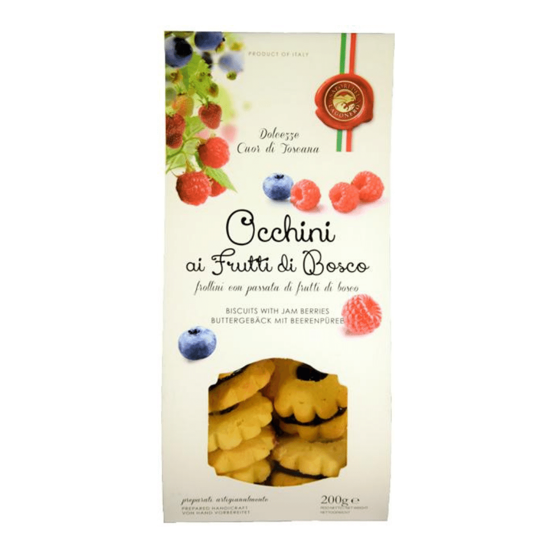 Lago Nero - Biscuits Filled With Forest Fruit Jam 200g - Artisan Deli Market