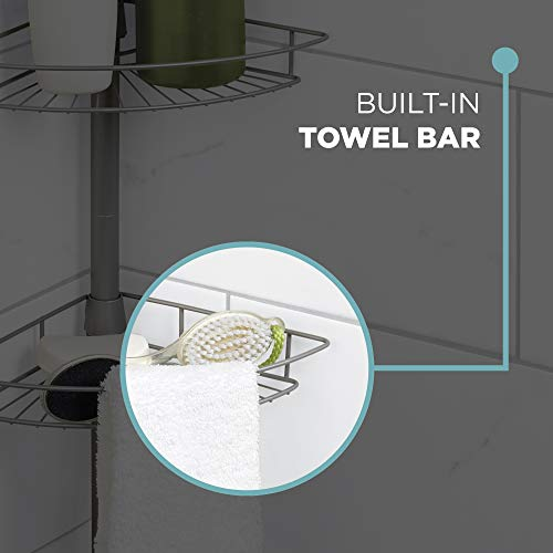 Home Pole Shower Caddy - Aiko 360