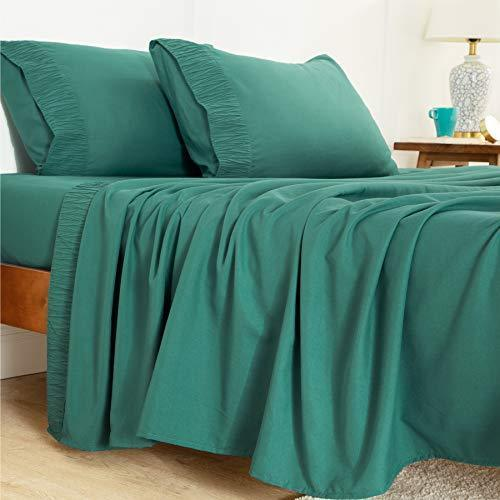 Bedsure- Soft 1800 Bedding Microfiber Sheets for Bed Set 4 Pieces