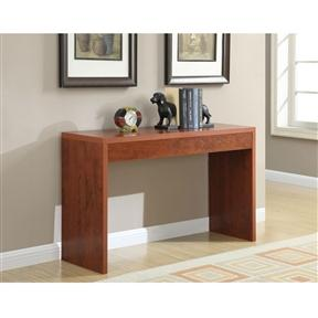 Cherry Finish Modern Living Room Console Table - Aiko 360