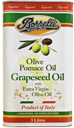 Load image into Gallery viewer, Olive Pomace Oil & Grapeseed Oil with Extra Virgin Olive Oil, 3L