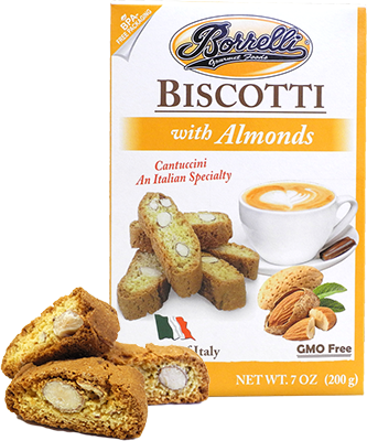 Biscotti with Almonds, 7oz (200g)