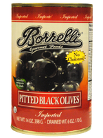 Load image into Gallery viewer, Pitted Black Olives (Medium), 14oz (398g)