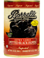 Load image into Gallery viewer, Pitted Black Olives (Extra Large), 14oz (398g)