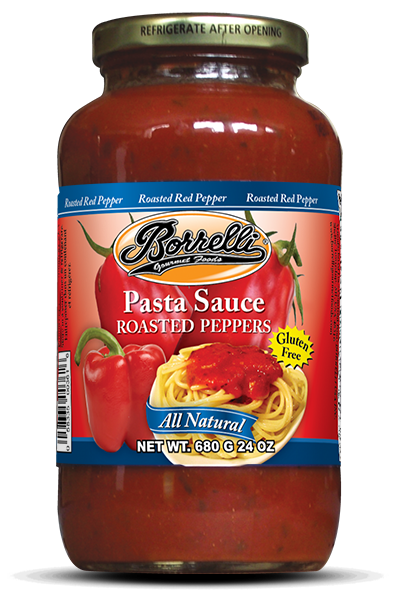 Roasted Pepper Pasta Sauce, 24oz (680g)