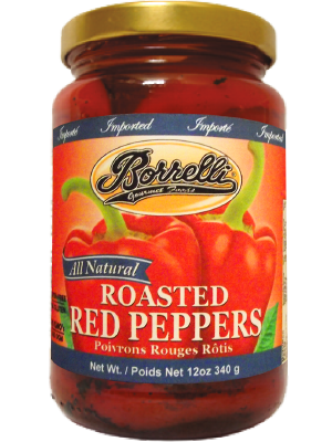 Roasted Red Peppers, 12oz (340g)