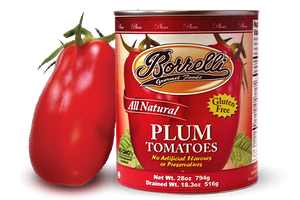 Plum Tomatoes, 28oz (794g)