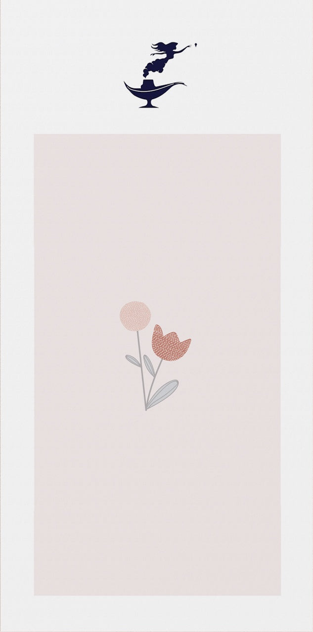 Valentine's Card with a Flower
